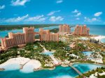 Aerial view of Atlantis, AQUAVENTURE, The Cove and The Reef