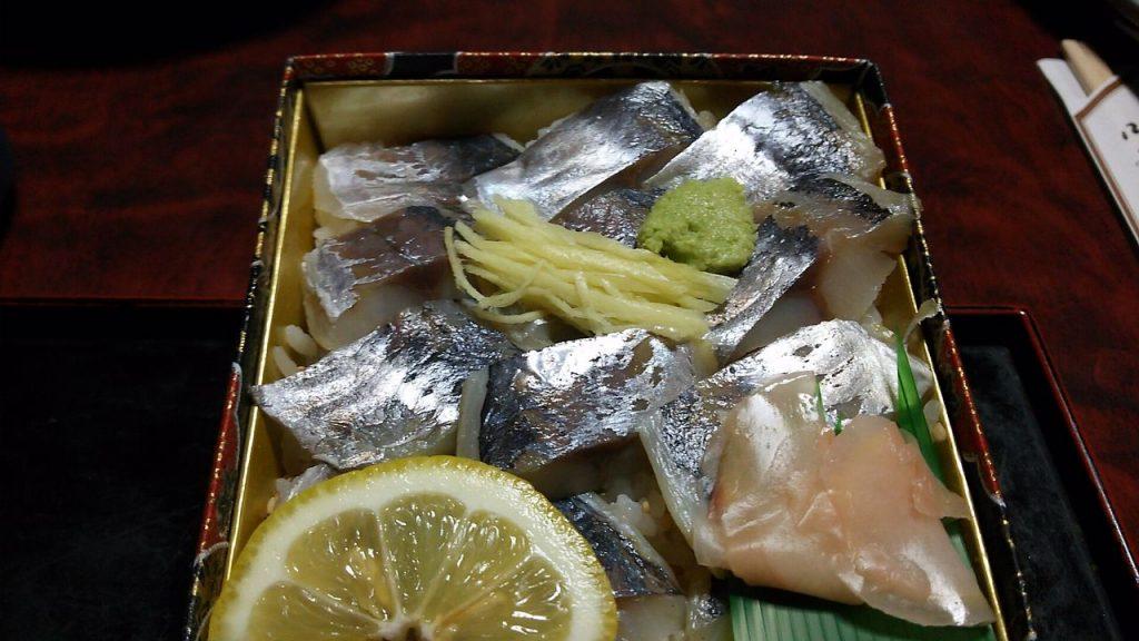 武士(たけし)のあじ寿司