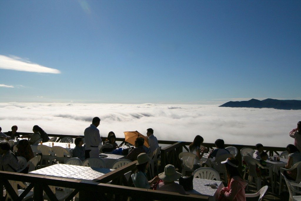雲海テラス1