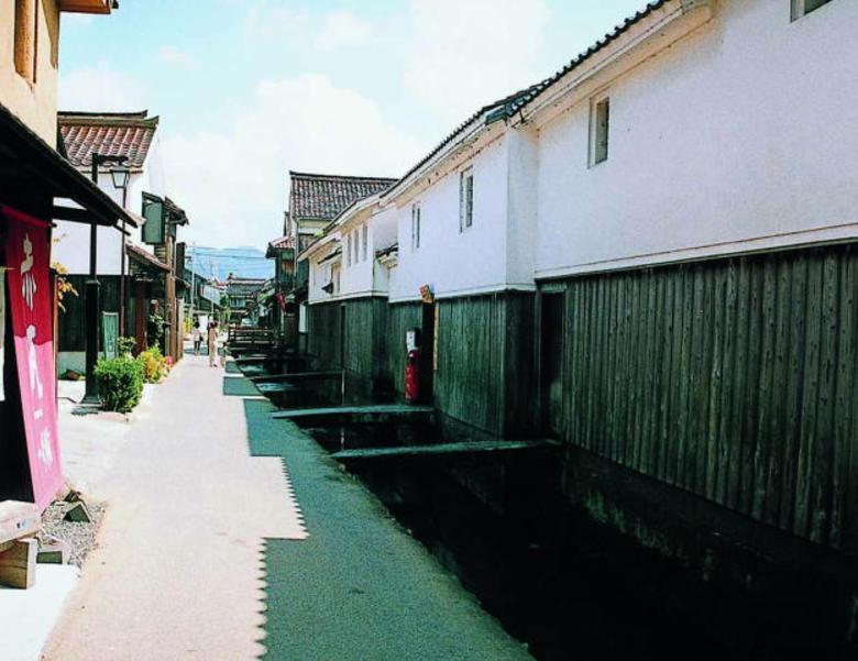 鳥取県 白壁土蔵群