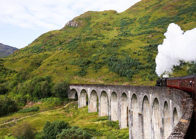 グレンフィナン陸橋_スコットランド