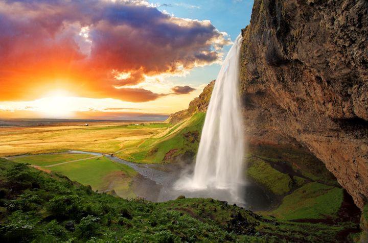 セリャラントスフォス2_アイスランド