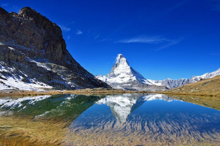 リッフェル湖_スイス