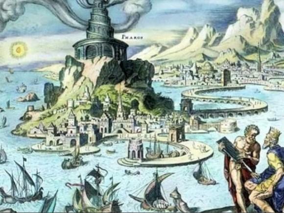 アレキサンドリアの大灯台2
