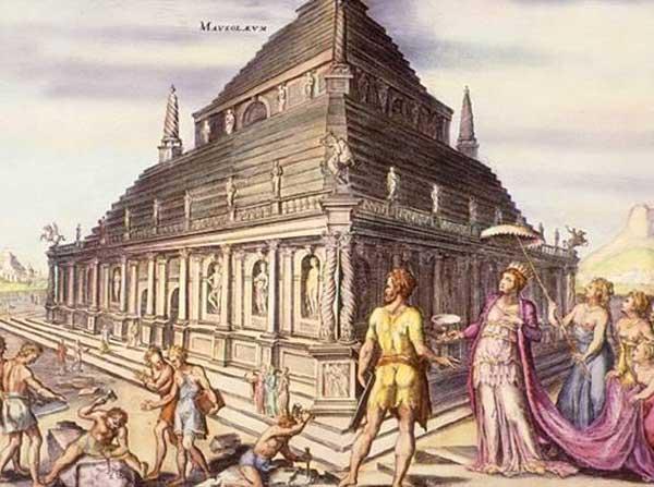 ハリカルナッソスのマウソロス霊廟