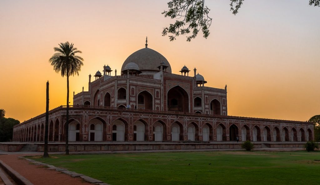 HumayunTomb_evening