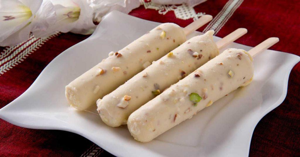 インドのアイスクリーム「クルフィ」(Kulfi)