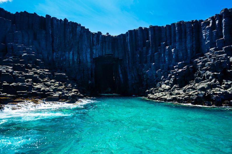 台湾の青の洞窟4