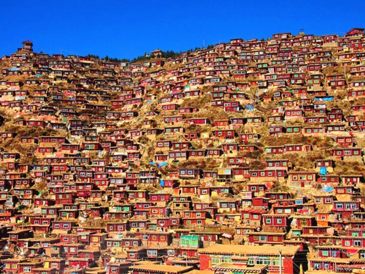 36【東チベット】ラルンガル・ゴンパ(五明佛学院)2