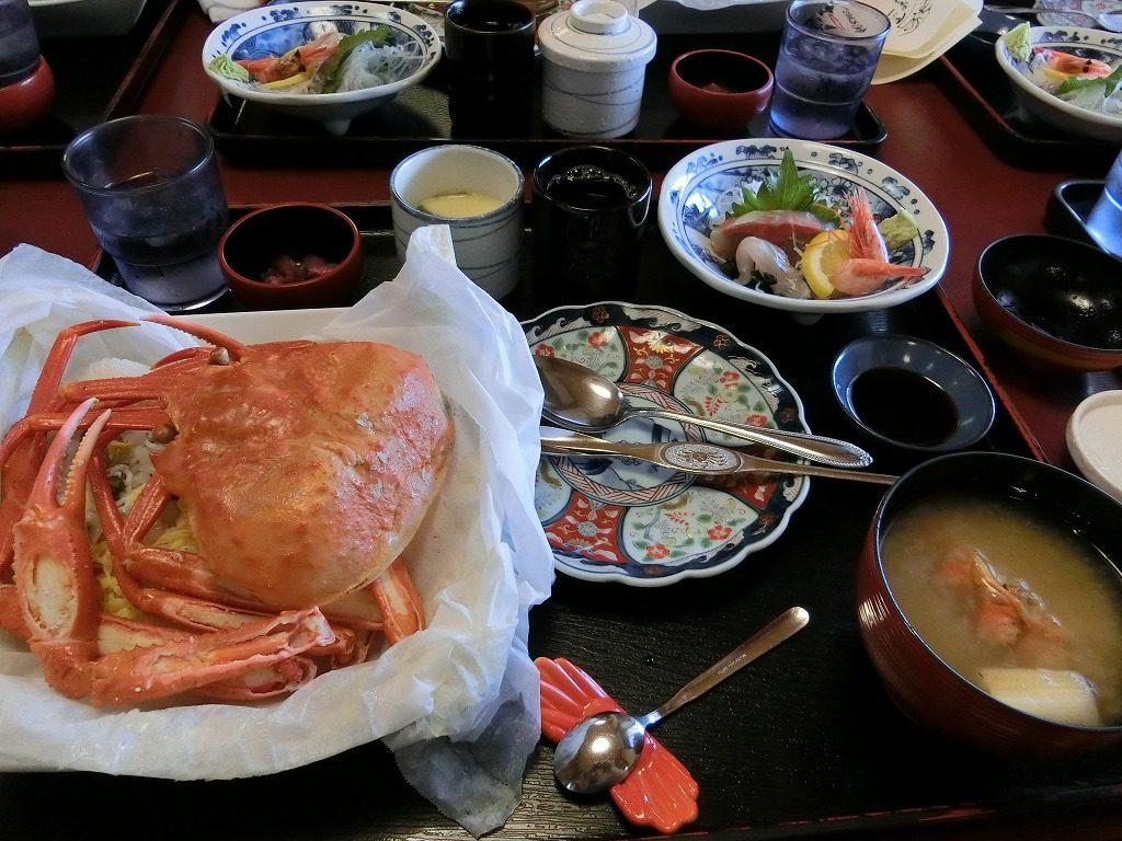 鳥取県 カニ料理3
