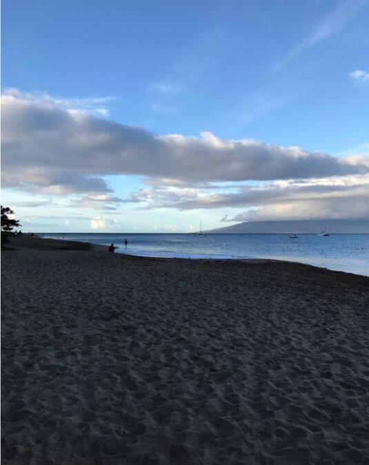 ハワイ カアナパリ・ビーチ