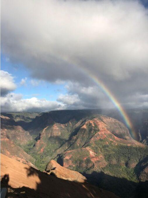ハワイ ワイメア渓谷