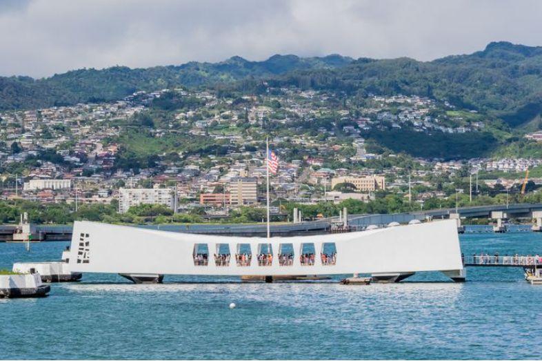 ハワイ アリゾナ記念館