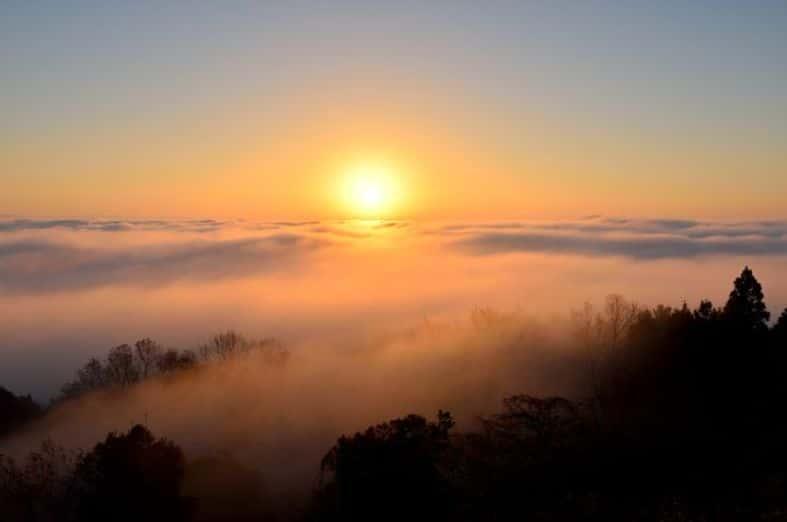 霧の海展望台(高谷山)